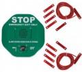 Exit Door Alarm For Double Doors Green - STI6402/G