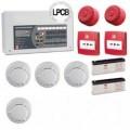 C-Tec 2 Zone Fire Alarm System Contractor Kit