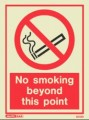 8025D No Smoking Sign 200mm x 150mm