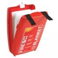 Firechief Clam Fire Blanket - 1m x 1m - HSR1/K75